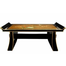 Japanese Shinto Wood Bench