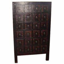 <strong>Oriental Furniture</strong> Chinese 24 Drawer Medicine Chest