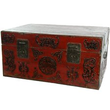 Chinese Traditional Hand Carved Trunk