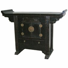 <strong>Oriental Furniture</strong> Altar 2 Drawer Cabinet