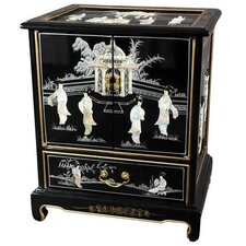 <strong>Oriental Furniture</strong> Japanese End Table