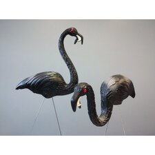 Zombie Flamingos (Set of 2)