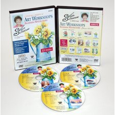 <strong>Weber Art</strong> SCHEEWE ART WATERCOLOR WORKSHOP 3 DVD SET SERIES 9C--13 EPISODES