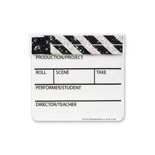 Cut Outs Sparkle Clapboard