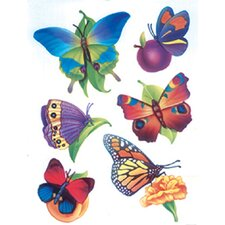 <strong>Eureka!</strong> Window Cling Butterflies 12 X 17