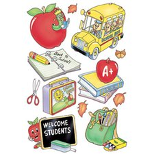 Window Cling Welcome Students 12x17