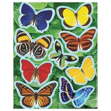Photo Butterfly Glitter Stickers