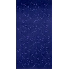 Stickers Foil Stars 1/2 In 250/pk
