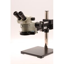 Stereo Zoom Microscope with Boom Stand and LED Illumination in Ivory