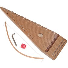 <strong>Zither Heaven</strong> Twenty-two String Cherry Bowed Psaltery