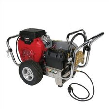<strong>Simpson</strong> Water Shotgun 5000 PSI Cold Water Electric Start Gas Powered Pressure Washer w/ Honda Engine (Belt Drive)