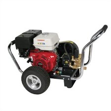 Water Blaster 3200 PSI Cold Water Gas Powered Pressure Washer w/ Honda Engine (Belt Drive)