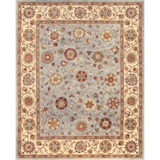 Rajput Light Blue Blossom Rug