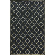 <strong>Bashian Rugs</strong> Greenwich Lattice Black Rug