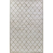 <strong>Bashian Rugs</strong> Greenwich Lattice Ivory Rug