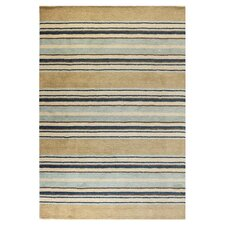 <strong>Bashian Rugs</strong> Contempo Light Blue Stripes Rug