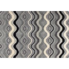 Chelsea Grey Color Waves Rug