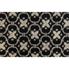 Venezia Black Strings Rug
