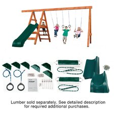Pioneer Deluxe DIY Swing Set