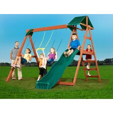 McKinley Wood Complete Swing Set