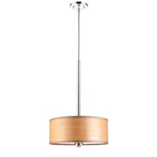 <strong>Woodbridge Lighting</strong> 3 Light Drum Pendant