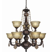 Lucerne 9 Light Chandelier