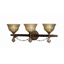 <strong>Woodbridge Lighting</strong> Lucerne 3 Light Bath Vanity Light