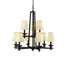 Baxter 9 Light Chandelier