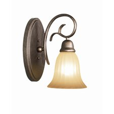 <strong>Woodbridge Lighting</strong> Clifton 1 Light Bath Vanity Light