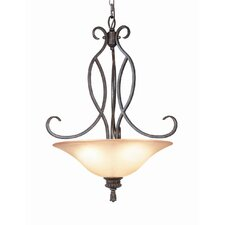 <strong>Woodbridge Lighting</strong> Fairhaven 3 Light Pendant