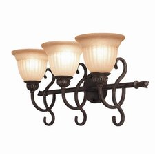 Fairhaven 3 Light Bath Vanity Light