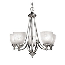 <strong>Woodbridge Lighting</strong> Kenshaw 5 Light Chandelier
