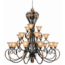 <strong>Woodbridge Lighting</strong> Harrington 21 Light Chandelier