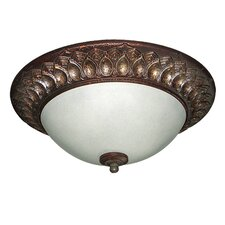 <strong>Woodbridge Lighting</strong> Interior Complements 2 Light Flush Mount