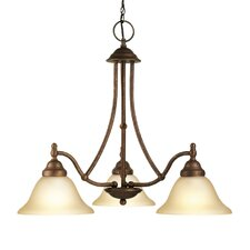 <strong>Woodbridge Lighting</strong> Anson 3 Light Chandelier