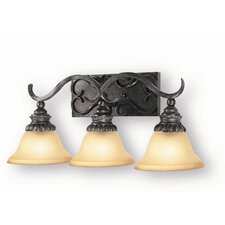 Rosedale 3 Light Bath Vanity Light