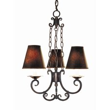 <strong>Woodbridge Lighting</strong> Montgomery 3 Light Chandelier
