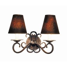 <strong>Woodbridge Lighting</strong> Montgomery 2 Light Wall Sconce