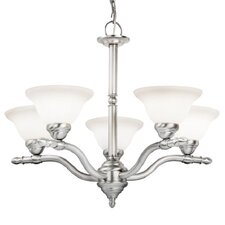 <strong>Woodbridge Lighting</strong> Cambria 5 Light Chandelier