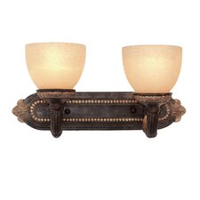 Rosedale II 2 Light Bath Vanity Light