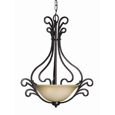 Palermo 3 Light Pendant