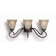 <strong>Woodbridge Lighting</strong> Palermo 3 Light Bath Vanity Light