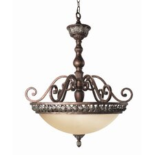 <strong>Woodbridge Lighting</strong> Worthington 3 Light Pendant