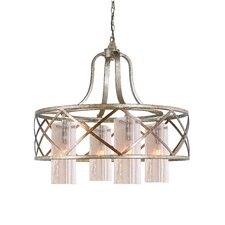 <strong>Woodbridge Lighting</strong> Braid 4 Light Chandelier