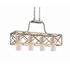 <strong>Woodbridge Lighting</strong> Braid 4 Light Kitchen Pendant Light