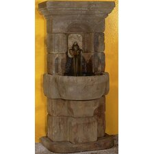 Wall Cast Stone Linari Lavabo Fountain