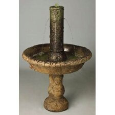 Cast Stone Small Tazza Fountain