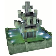 80Pooled Fiberglass Fountain