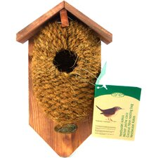 <strong>Best For Birds</strong> Nest Pocket Coconut Fiber Bird House