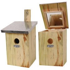 <strong>Best For Birds</strong> Mirrored Nesting Bird House